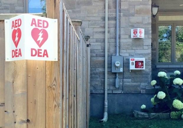 Backyard AED