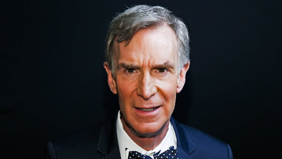 Bill Nye's new book is called Everything All at Once: How to Unleash Your Inner Nerd, Tap into Radical Curiosity and Solve Any Problem.