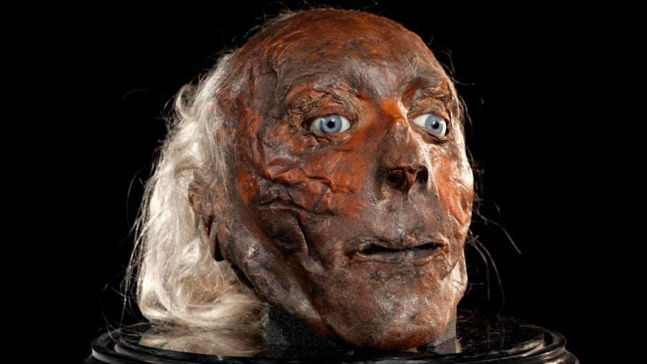 Jeremy Bentham's head will be on display soon at University College London.