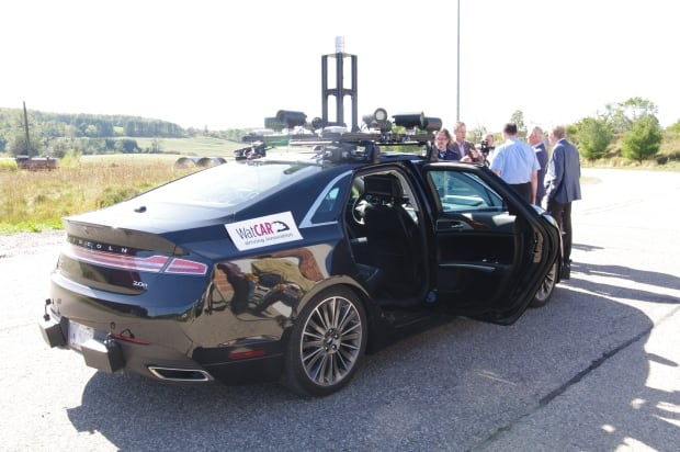 WatCar driverless autonomous car demo