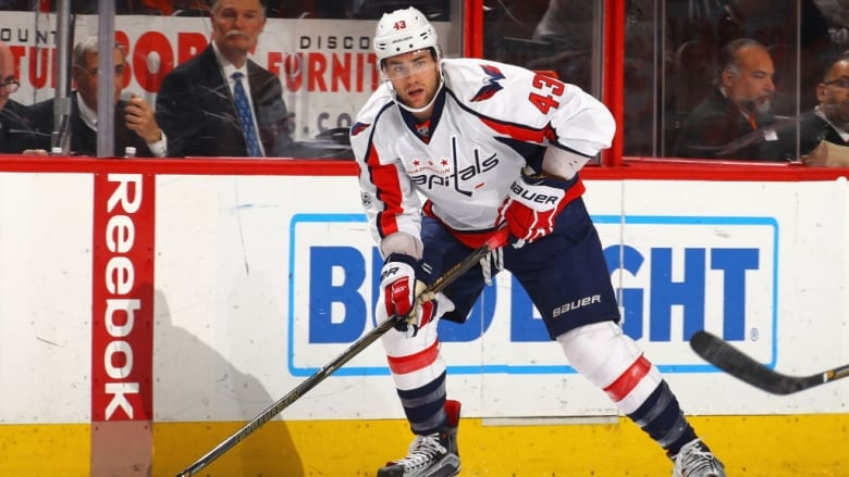 new product aee89 454a4 Capitals' Wilson gets 4-game ban for boarding | CBC Sports