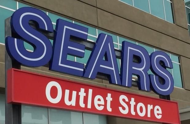 Sears Canada sign