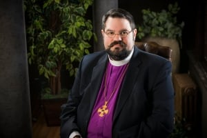 Bishop William G. Cliff of the diocese of Brandon