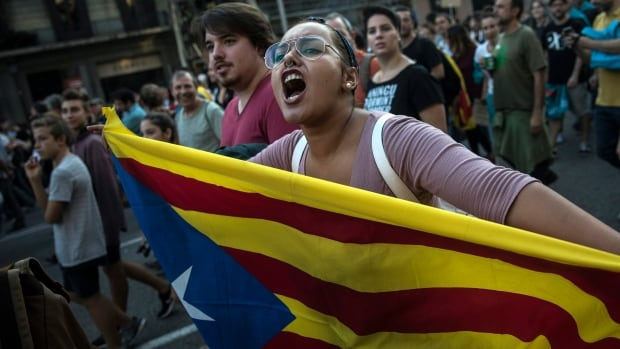 A Catalonia declaration of independence could force Spain's central government to suspend the region's autonomy, a move that could trigger a constitutional crisis and spark more violent clashes.