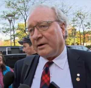 P.E.I. Premier Wade MacLauchlan in Ottawa