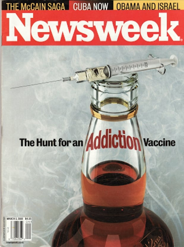 Newsweek cover on addiction vaccine
