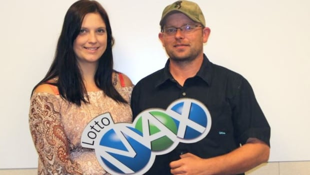 Brett McCoy and Robin Walker of Peers, Alta., have won the largest lottery jackpot in Alberta history.