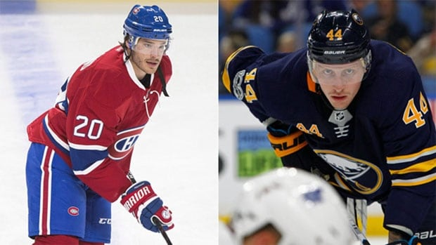 Sabres acquire Redmond in trading Deslauriers to Canadiens