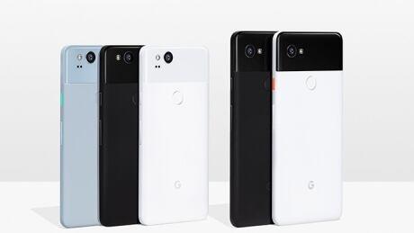 Google Pixel phones 2017