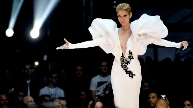 Celine Dion performs My Heart will Go On at 2017 Billboard Music Awards in Las Vegas. The singer returned to her Vegas residency Tuesday night, less than 48 hours after a deadly shooting killed 58 there.