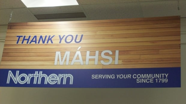 Northern and Northmart stores across Canada will see Indigenous language signage in their stores starting this week.