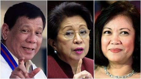 Duterte, Carpio-Morales, Sereno