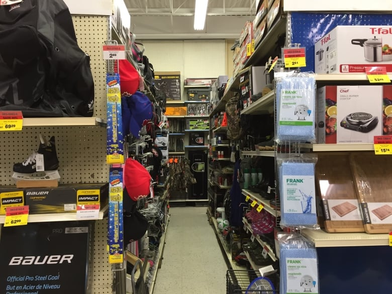 The aisle spacing is tight in the Canadian Tire in Nipigon Ont. Itu0027s the smallest store in Canada. For ex&le housewares share the same aisle space as ... & Nipigon Ont. store is smallest Canadian Tire in Canada | CBC News