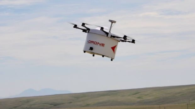 A company called Drone Delivery Canada will begin next month flying goods between Moosonee to the nearby island of Moose Factory in northern Ontario.