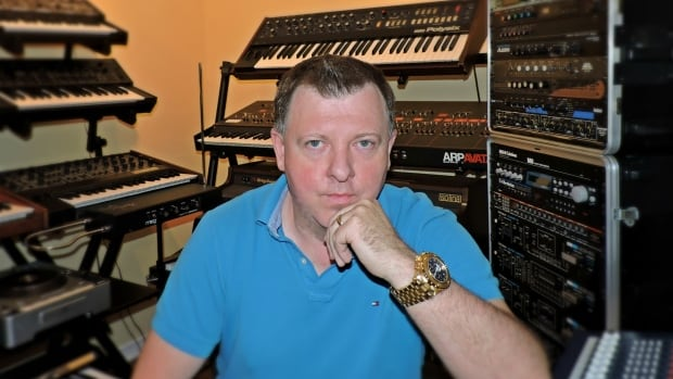 Paul Anthony makes music from his basement studio in Orléans.