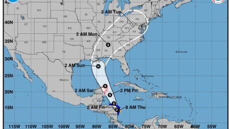 Tropical storm Nate could threaten U.S. Gulf Coast, possibly as hurricane