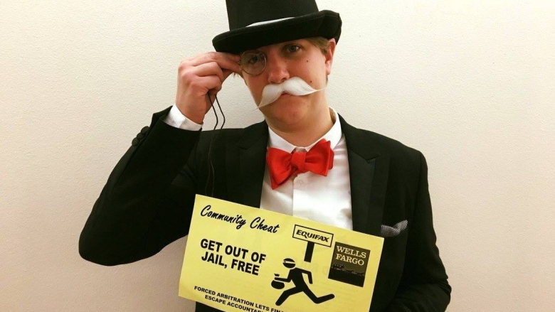 Meet The Monopoly Man Who Photo Bombed Former Equifax Ceo Cbc Radio