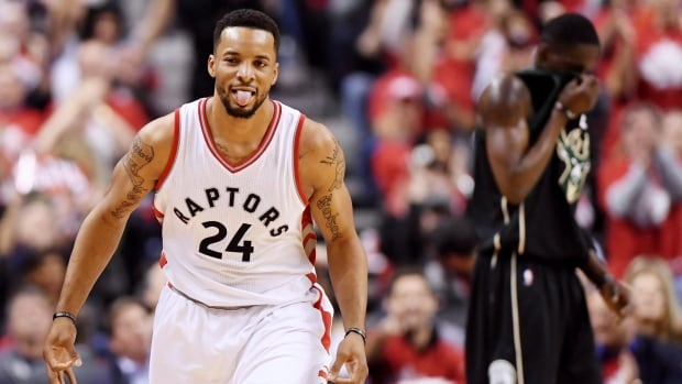 Toronto Raptors guard Norman Powell signed a four-year, $42-million US contract extension that will take effect in 2018-19.