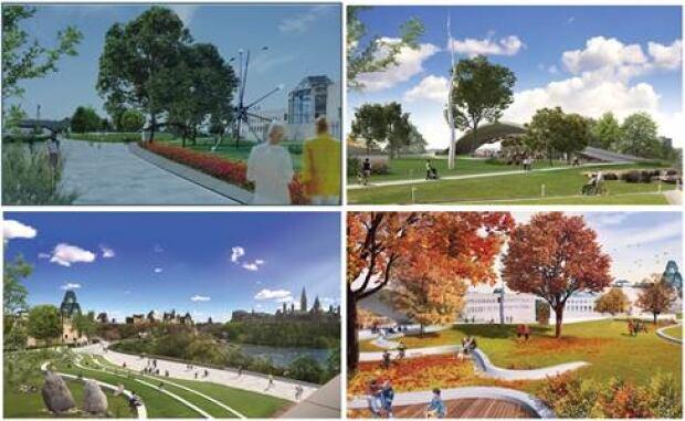 Nogoshkodadwin Park by Team Asselin (WAA Montreal, Tectoo Architects, Milan Ingegneria) Nepean point