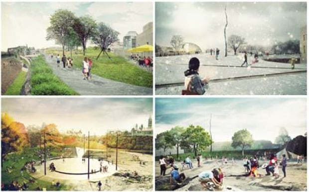 Nepean Point — A Park for Our Nation in Progress by Team Ryan (PUBLIC WORK, KPMB Architects, Blackwe