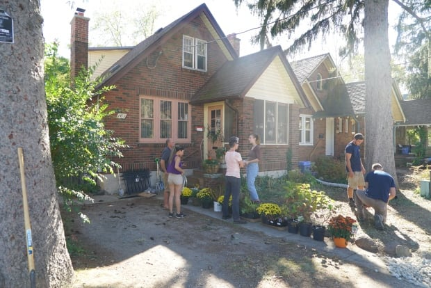 Neighbourhood comes together to rebuild 39 broughdale for Local landscaping companies