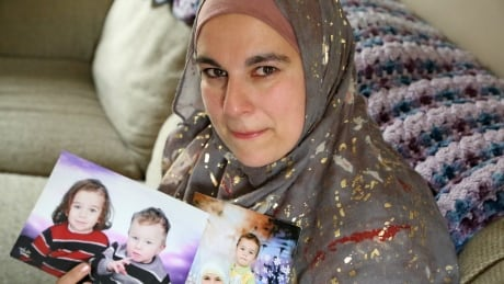 Mother whose sons were taken by husband hoping to see them for the first time in years