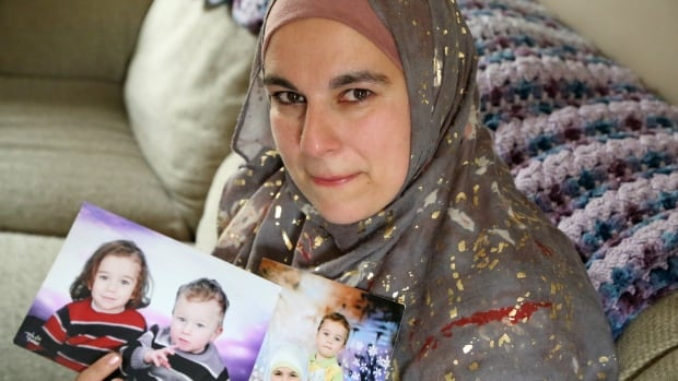Jolly Bimbachi has not seen her two sons in more than two years after her ex-husband took them to Lebanon and refuses to return.