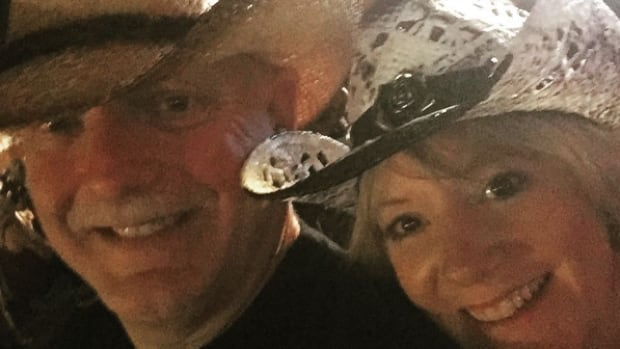 Doug and Patti Johnston, a couple from Surrey, were at the Route 91 Harvest country music festival in Las Vegas on Oct. 1.