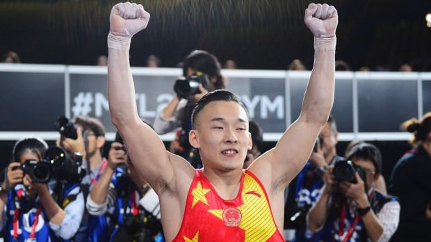 Xiao leads Chinese one-two in gymnastics worlds men's all