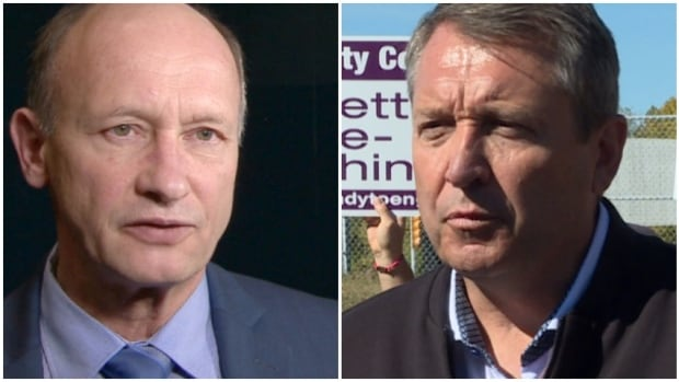 Calgary mayoral candidates Andre Chabot and Bill Smith both say they have not plans to suspend their campaigns.