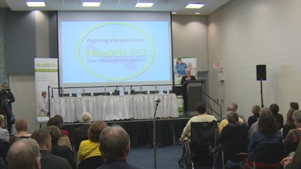 The Health PEI AGM is well publicized, but PC health critic Sidney MacEwen would like to see better access to Health PEI's monthly meetings.