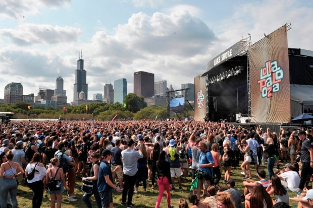 CORRECTION 2017 Lollapalooza - Day 4