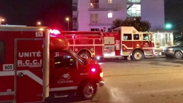 Firefighters found a body after a fire broke out at an apartment building in Hull Thursday night.