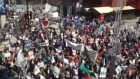 RAW: Protesters fill city streets