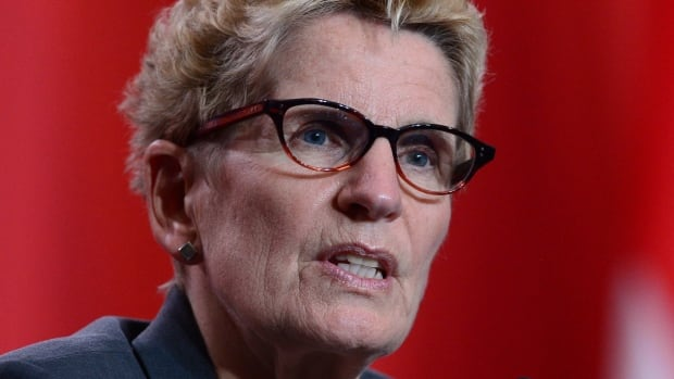 Ontario Premier Kathleen Wynne's Liberals are trailing in the polls with seven months to go before the next provincial election.