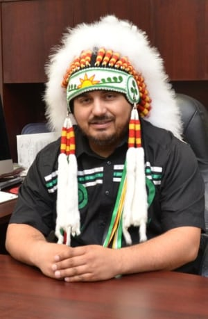 Tobique First Nation Chief Ross Perley