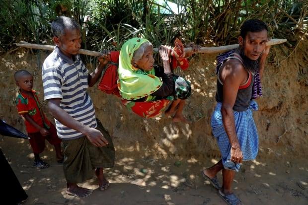 MYANMAR-ROHINGYA-REFUGEE