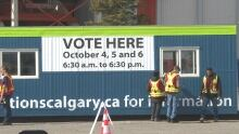 Calgary election advance voter turnout