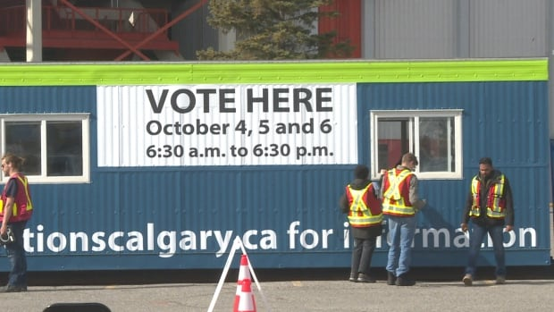 In the first two days of advance voting, 19,073 Calgarians showed up to get their ballots in early.