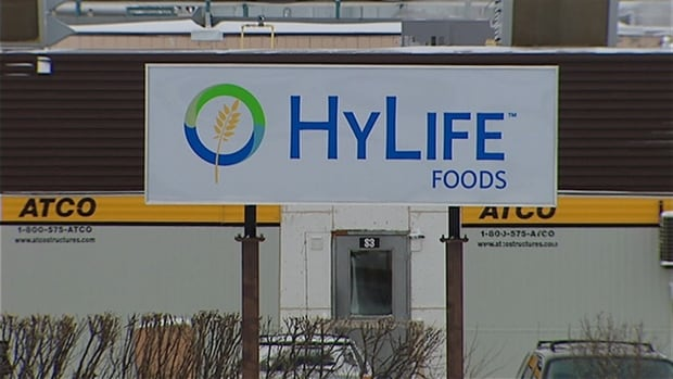 HyLife Foods is suing a recruiter and a former staffer who worked at its Neepawa plant, seen above.