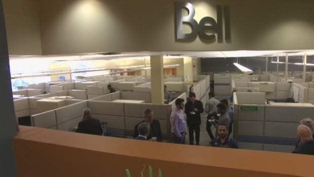 Bell Canada has received $3.6 million from Opportunities New Brunswick to create up to 150 jobs. The company says 12 people have been hired to date.