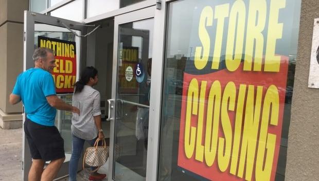 Sears Canada store closing