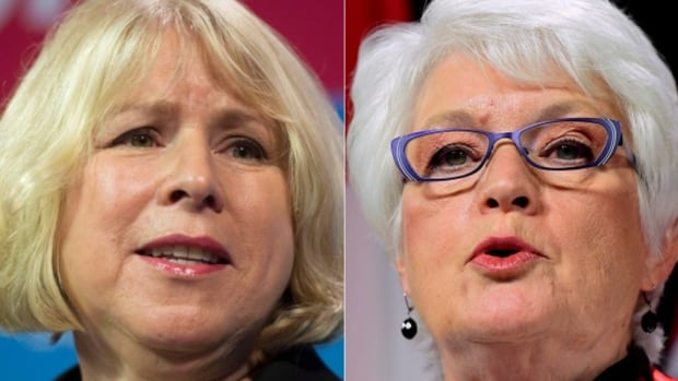 Deb Matthews, left, and Liz Sandals both announced Friday they will not run in Ontario's 2018 election.