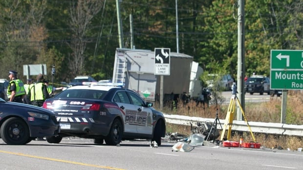 Highway 6 between Freelton Road and Concession 10 was closed for much of Thursday following the fatal head-on collision.