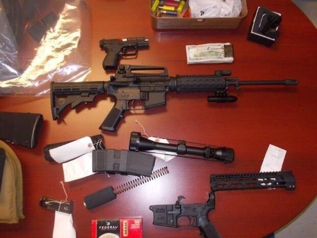 Firearm seizure