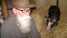 Brent Johnson and Pork Chop