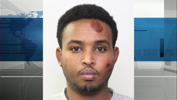 Abdulahi Hasan Sharif, 30, faces 11 criminal charges including five counts of attempted murder.