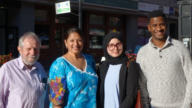 Robert Day, Sheena Zain, Baraa Arar and Karim Pringle are all from different generations – and all have different experiences with debt.