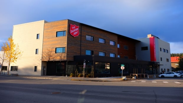 The Salvation Army Centre of Hope shelter opened in Whitehorse last month. Housing Minister Pauline Frost said recently the transition units would 'Housing First' units, then later clarified they would use 'a component of the Housing First model.'