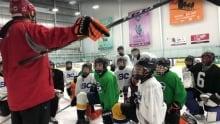 Yukon Rivermen practice
